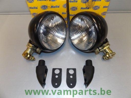 Unimog 401 Werklampen set Hella 4...